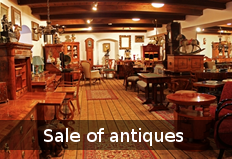 Sale of antiques