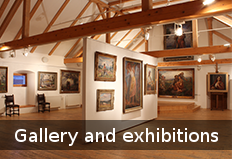Gallery and exhibition hall
