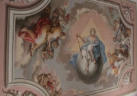 Monastery Tachov - ceiling painting