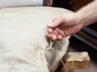 Take a look under the hands of restorer: 3.part Upholstery
