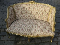 Restoration of gilded furniture for the Embassy of the Russian Federation